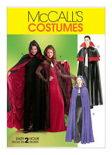 McCall's 4139 Sewing Pattern to MAKE  Fancy Dress/Halloween Capes/Cloak Adult