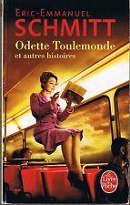Odette Toulemonde  * Eric Emmanuel SCHMITT littérature contemporaine nouvelles