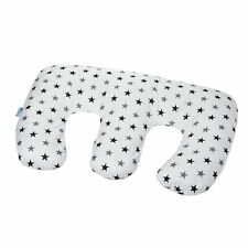 Twin Pregnancy Nursing Pillow - Silver Stars