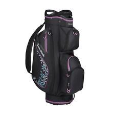 TaylorMade Golf Kalea Ladies Cart Bag (Black/Voilet)