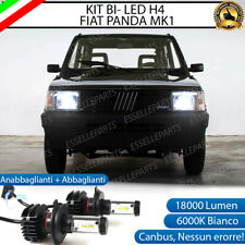 KIT LED H4 FIAT PANDA MK1 6000K CANBUS 18000 LUMEN REALI LUXEON ZES BI-LED