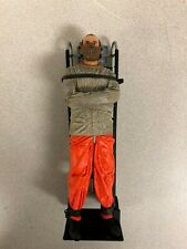 "7"" Hannibal Lector Figure in Straight Jacket on Dolly. Neca 2006"