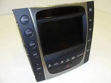 128830.Lexus GS350 2010 Navigation Climate Display OEM 86431-30200 86805-30120