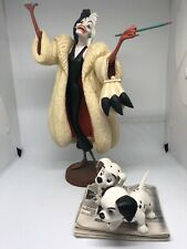 Walt Disney 101 Dalmations, Cruella De Vil & Puppies on Newspaper