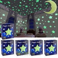 Ultra Glow in the Dark Stars; 1000 Count w/ Bonus Moon-USA FREE SHIPPING