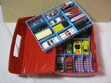 Matchbox & Hot Wheels Diecast Toy Car Lot & Case  T*
