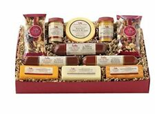 Hickory Farms Signature Party Gift Box Holiday Summer Sausage Cheese Nuts App.