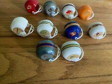 1970's Plastic Mini Football helmets AFC