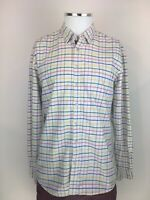 Mens Multi coloured Joules Shirt Classic Fit UK Size Medium Long Sleeved Used