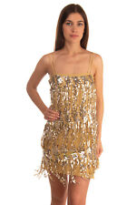 RRP €4905 SAINT LAURENT Cocktail Dress Size 36 / S Sequined Mesh Layer Strappy