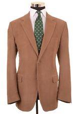 Dolce & Gabbana Brown Corduroy 100% Cotton Sport Coat Jacket Blazer 54 44 R
