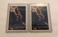LOT of 2 1997 - 1998 Topps Tracy McGrady #125 Basketball Rookie Cards