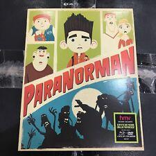 Paranorman Blu-ray + DVD + Digital Copy w/ GID Slip cover | HMV Canada Exclusive