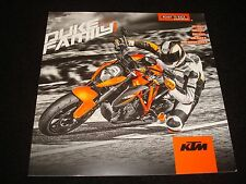 KTM Duke 125 ,390 ,690 ,690R,1290 Super Folleto Ventas Gb 2015 Nuevo,Viejo Stock