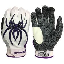 Spiderz HYBRID Batting Gloves – Haze Whiteout (White/Purple) EXTRA LARGE, new