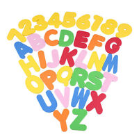 36 PCs EVA Baby Bath Toys Letters Numbers Stick On The Wall Safety Learning Toys