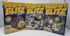2010 BREAKFAST BLITZ CEREAL 3 BOX SET NEVER OPENED MINT GREEN BAY PACKERS