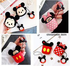 3D Disney Minnie Mickey Mouse Cartoon For Apple AirPods 1&2/Pro/3 Silicone Case