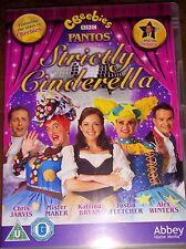 Cbeebies Panto: Strictly Cinderella DVD Justin Fletcher  Christmas Pantomime