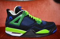 WORN 1X Nike AIR JORDAN IV 4 RETRO DB DOERNBECHER SIZE 8.5 Blue GREEN 308497 015