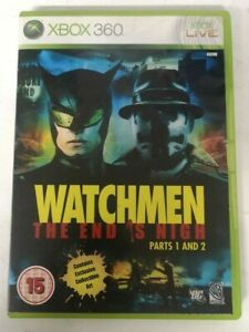 Watchmen The End is Nigh Microsoft Xbox 360 Video Game FREE P&P
