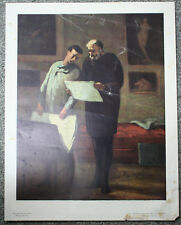 Honore Daumier Advice To A Young Artist Vintage National Gallery of Art Print