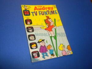 LITTLE AUDREY TV FUNTIME #23 Harvey Giant Size Comic 1969 cartoons