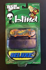2000 TECH DECK DELUXE 2 BLIND 2 GIRLS 96mm FINGERBOARD SKATEBOARD VERY RARE