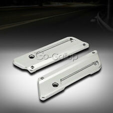Chrome Saddle Bag Latch Covers For Harley Davidson Electra Glide Classic FLHTC