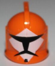LeGo Star Wars Orange Bomb Squad Trooper Helmet Clone Head Gear NEW