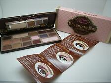 TOO FACED CHOCOLATE BAR AUTHENTIC EYE SHADOW COLLECTION PALETTE W/COCOA POWDER