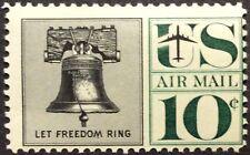 1960 10c Liberty Bell Airmail Single, Scott #C57, MNH, VG-F