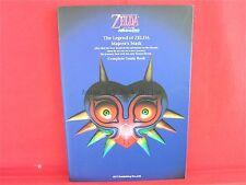 The Legend of Zelda: Majora's Mask complete strategy guide book/ N64
