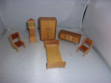 Alte Möbel-60-70er Jahre-Lundby-Lisa-Barton-Puppenhaus-Puppenstube-1:18-England