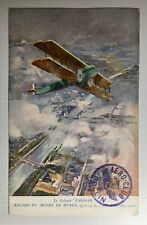 Rare Pioneer Aviation Post Card-Aero Club Rollin Post Mark -Farman World Record-