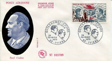FRANCE FDC - 836 A48 1 PAUL CODOS AVION IVIERS 24 2 1973 - LUXE