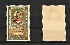 CHIUDILETTERE XV CENTENARIO MORTE S.AMBROGIO MILANO 1897 (H/03)