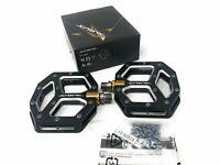 Shimano SAINT M820 PD-M828 Platform Flat Pedals MTB Bike Black New in Retail Box