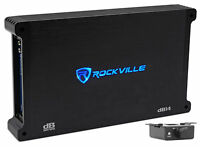 Rockville dB14 4000 Watt/2000w RMS Mono Class D 2 Ohm Amplifier Car Audio Amp