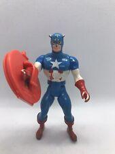 Marvel Super Heroes Secret Wars Captain America Figure 1984 Mattel Action Figure