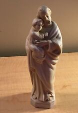 St. Joseph Holding Baby Jesus Statue Sculpture Figurine Numbered/Germany