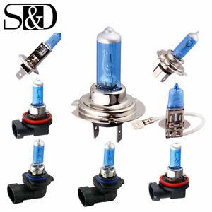 2X H4/H7/H11/9005/9006 55W/100W Car Halogen Head Light Fog Bulbs 5000K White 12V