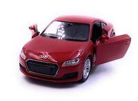 Audi TT Kompakt Sportler Modellauto Auto Rot Maßstab 1:34 (lizensiert)