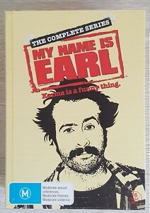 My Name Is Earl The Complete Series DVD Box Set, 16 Discs R4 Jason Lee