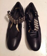 Be&D Studded  Leather Flats 39