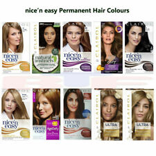 3x CLAIROL - NICE 'n EASY PERMANENT HAIR DYE COLOURS FOR WOMEN