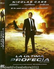 La Ultima Profecia _Left Behind-(2014) NEW DVD English and Spanish- NICOLAS CAGE