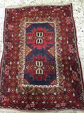 Handgeknüpfter brücke Orientteppich Orient läufer Teppich Antik 150x103