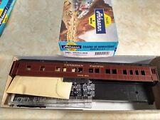 "Athearn 2461 HO Canadian Pacific ""Notch Hill"" STD Pullman Kit NIB"