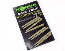 Korda Safe Zone Anti Tangle Sleeves Gravel Brown 25 PK